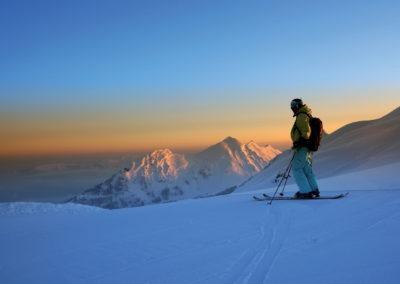 1010_Tiefschneefahrer, Skigebiet Mellau/Damüls